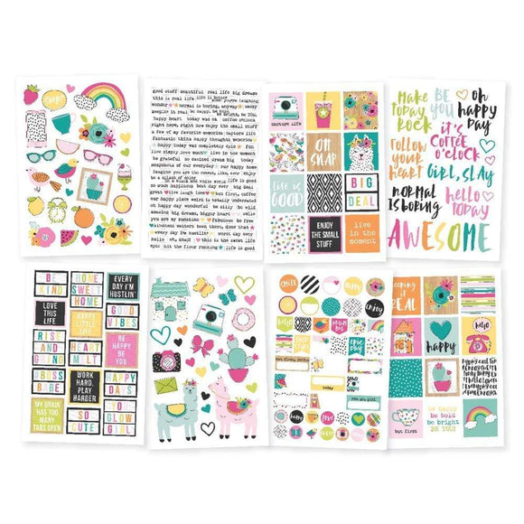 Scrapbooking  Oh Happy Day Stickers 4