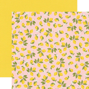 "Scrapbooking  Summer Farmhouse Double-Sided Cardstock 12""X12"" - Easy Peasy Paper 12x12"