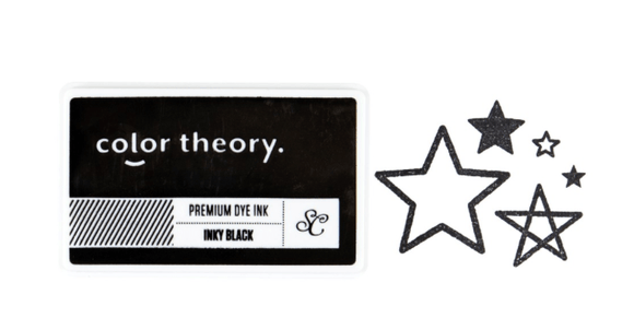 Scrapbooking  Color Theory Ink Pad - Inky Black ink