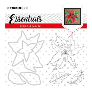 Scrapbooking  Studio Light Essentials Stamp & Die Set - Basic 47 Stamps