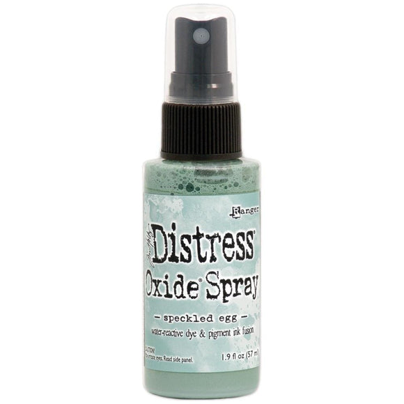 Scrapbooking  Tim Holtz Distress Oxide Spray 1.9fl oz Speckled Egg Paper Collections 12x12