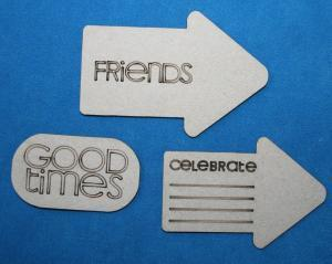 Scrapbooking  Tag Words Set A2Z Scraplets