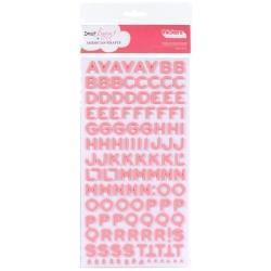 Scrapbooking  AC Fantastic Foam Thickers Salmon Alphas