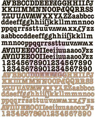 Scrapbooking  Engraver Canvas Alphabet Stickers Alphas