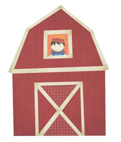Scrapbooking  Barn Cut Out ****Clearance Stock****