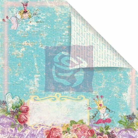 Scrapbooking  Prima Sweet Fairy Fresh Breeze ****Clearance Stock****