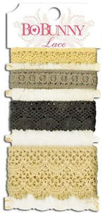 Scrapbooking  Lace Pack Natural Earth Embellishments