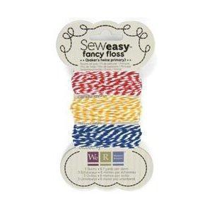 Scrapbooking  Sew Easy Baker's Twine Primary Embellishments