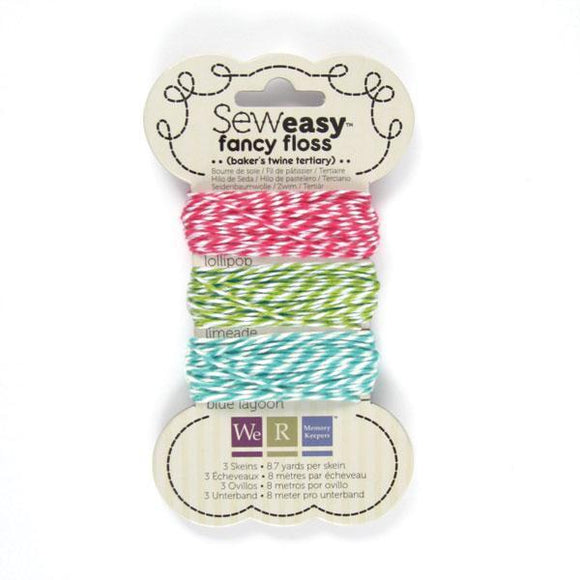 Scrapbooking  Sew Easy Baker's Twine Tertiary Embellishments