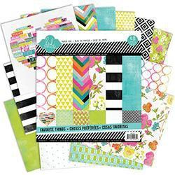 Scrapbooking  Favourite Things 12x12 Paper Pad Heidi Swapp