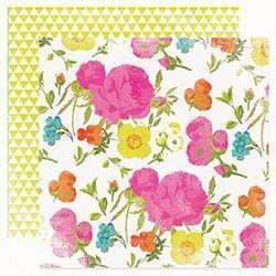 Scrapbooking  Favourite Things In Bloom Paper Heidi Swapp