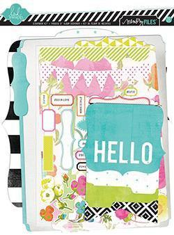 Scrapbooking  Favourite Things Memory File Kit Heidi Swapp