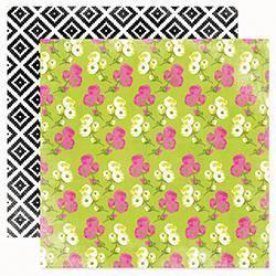Scrapbooking  Favourite Things Mixed Floral Paper Heidi Swapp