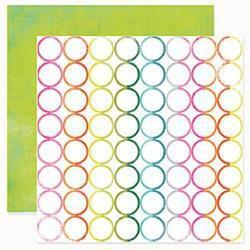 Scrapbooking  Favourite Things Rainbow Rounds Paper Heidi Swapp