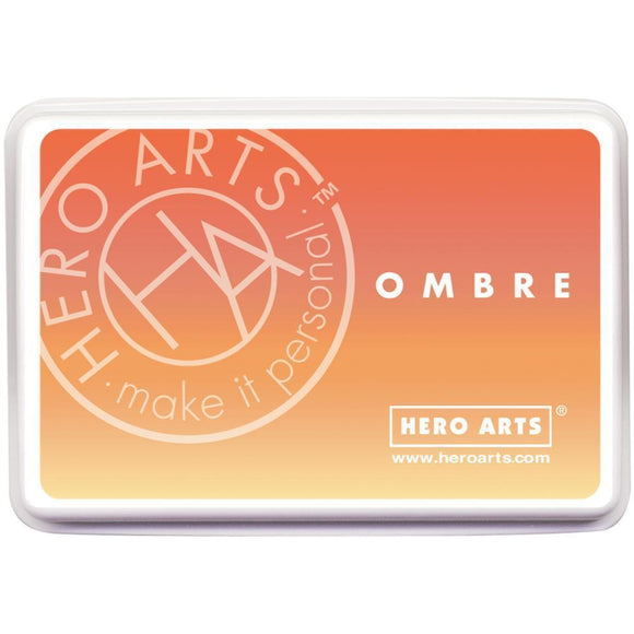 Scrapbooking  Hero Arts Ombre Ink Pad - Butter to Orange Paper Collections 12x12