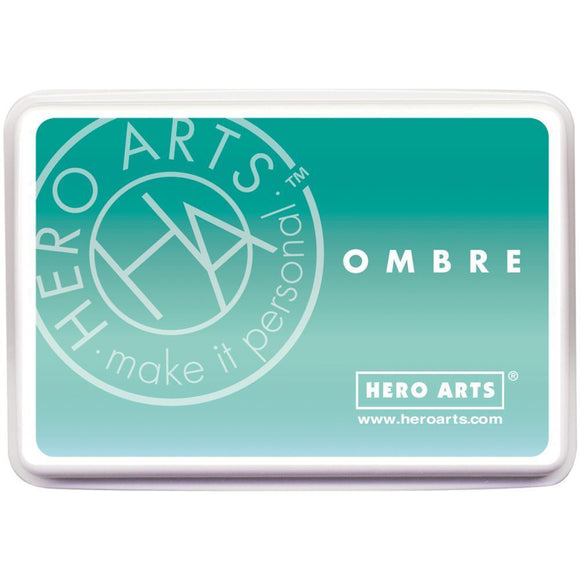 Scrapbooking  Hero Arts Ombre Ink Pad - Mint to Green Paper Collections 12x12