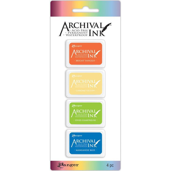 Scrapbooking  Archival Mini Ink Pad Kits Kit 3 Paper Collections 12x12