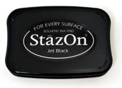 Scrapbooking  Stazon Jet Black Ink Pad Paper Collections 12x12