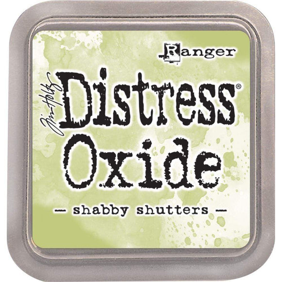 Scrapbooking  Tim Holtz Distress Oxides Ink Pad - Shabby Shutters Paper Collections 12x12