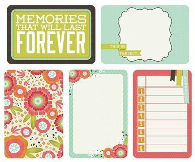 Scrapbooking  Captured Moments Favourite Things Cards 4x6 inch Kaisercraft