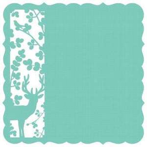Scrapbooking  Hummingbird Meadow Die Cut Kaisercraft