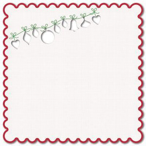 Scrapbooking  Kaisercraft MINT TWIST Garland Die Cut Kaisercraft