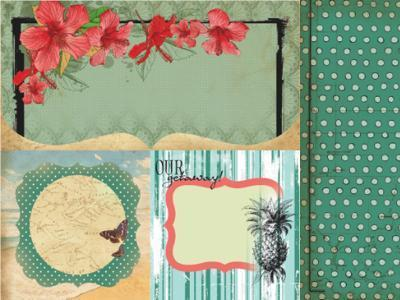 Scrapbooking  Tropicana Breeze Kaisercraft