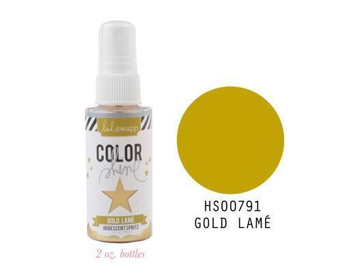 Scrapbooking  Colour Shine Spritz Gold Lame 2oz Mists and Sprays