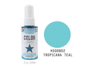 Scrapbooking  Colour Shine Spritz Tropicana Teal 2oz Mists and Sprays