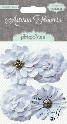 Scrapbooking  Artisan Flowers Mixed Media