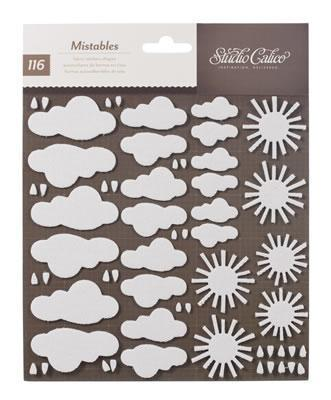 Scrapbooking  Hey Day Mistable Shapes Weather Mixed Media