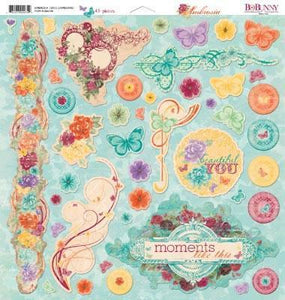 Scrapbooking  Ambrosia Chipboard 12x12 Paper Collections 12x12