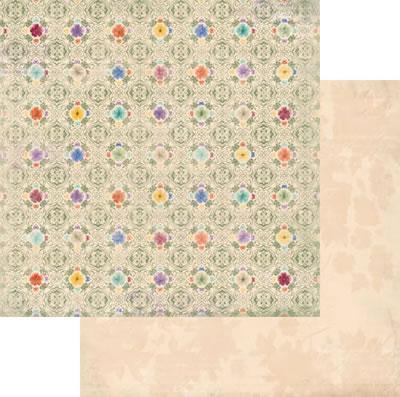 Scrapbooking  Ambrosia Pansies Paper Collections 12x12