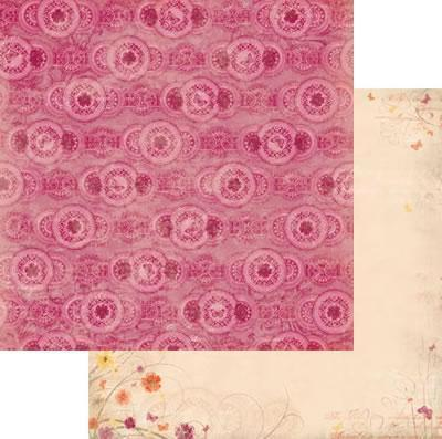 Scrapbooking  Ambrosia Primrose Paper Collections 12x12