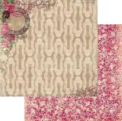 Scrapbooking  Ambrosia Roses Paper Collections 12x12