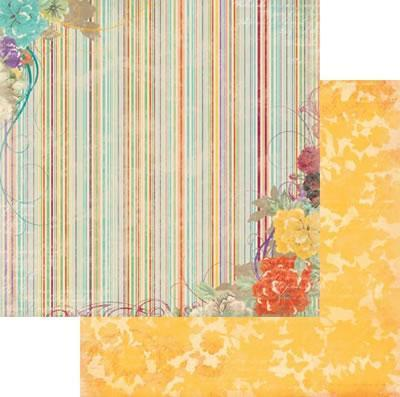 Scrapbooking  Ambrosia Stripe Paper Collections 12x12
