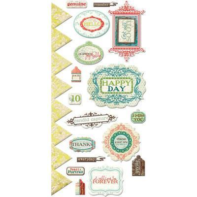 Scrapbooking  Anthologies Embossed Stickers Paper Collections 12x12