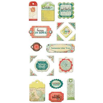 Scrapbooking  Anthologies Layered Chipboard Tags Paper Collections 12x12