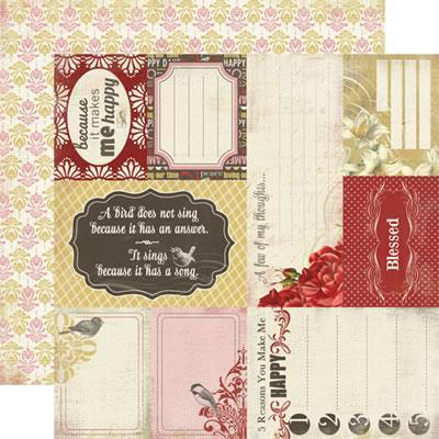 Scrapbooking  Beautiful Moments Thoughful Cards Paper Collections 12x12
