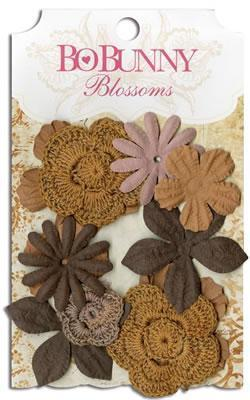 Scrapbooking  Blosssoms Natural Earth Bouquet Paper Collections 12x12