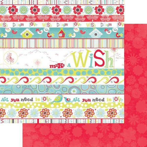 Scrapbooking  Bo Bunny Alora Wish Paper Collections 12x12