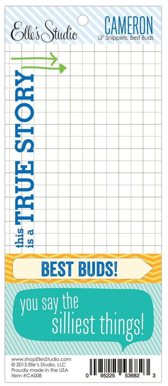 Scrapbooking  Cameron Lil Snippets Best Buds Paper Collections 12x12