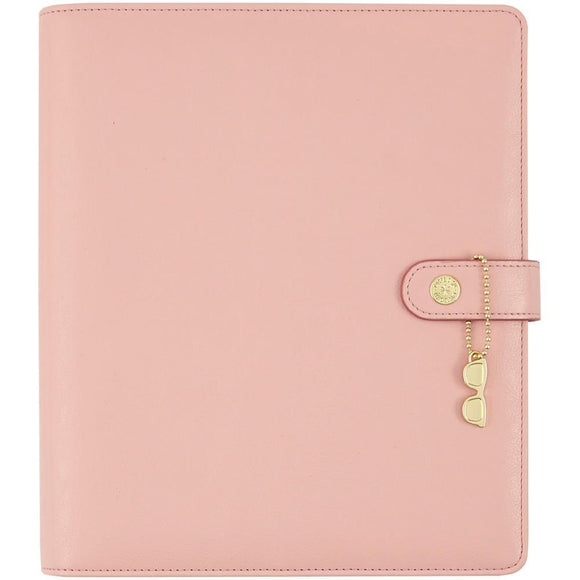 Scrapbooking  Carpe Diem A5 Planner Ballerina Pink (no inserts) Paper Collections 12x12