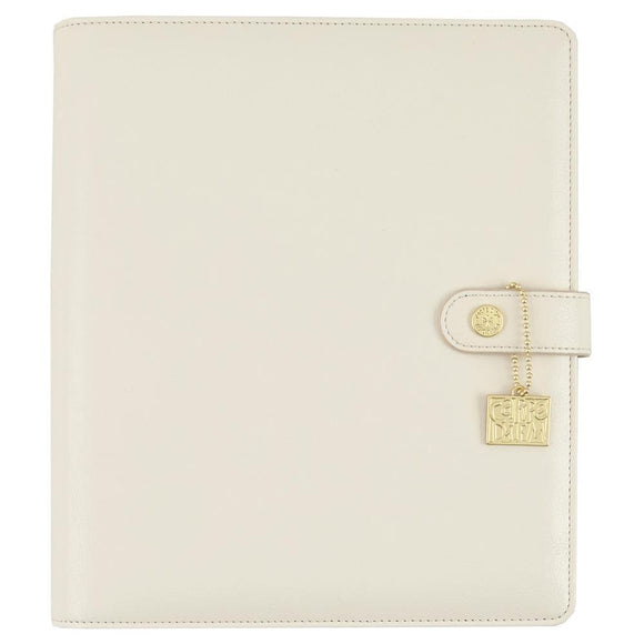Scrapbooking  Carpe Diem A5 Planner Ivory (no inserts) Paper Collections 12x12
