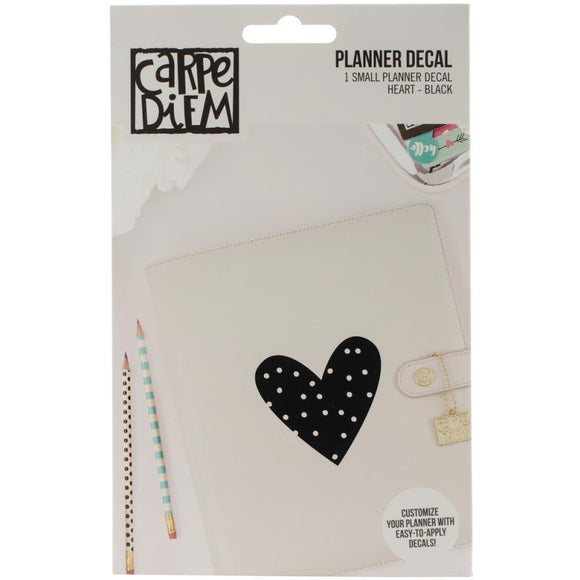 Scrapbooking  Carpe Diem Small Planner Decals Heart Paper Collections 12x12