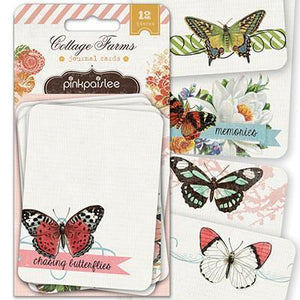 Scrapbooking  Cottage Farms Journal Cards Paper Collections 12x12