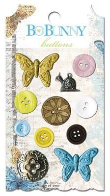 Scrapbooking  Country Garden Buttons Paper Collections 12x12