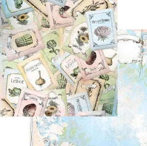 Scrapbooking  Country Garden Seeds Paper Collections 12x12