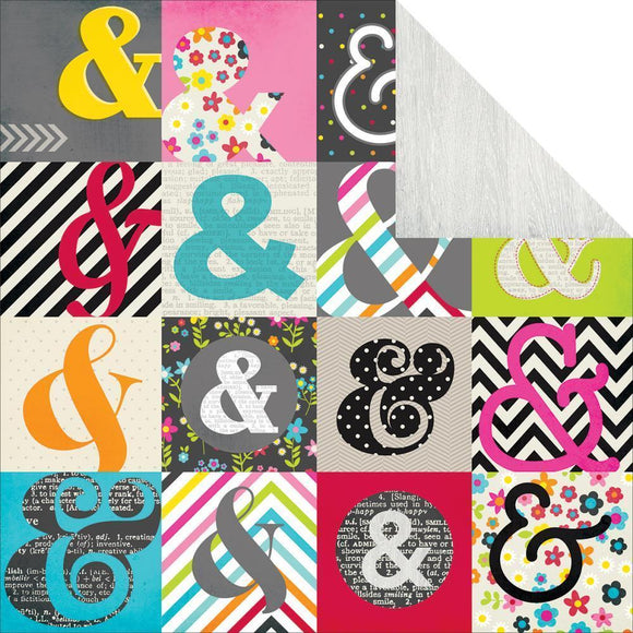 Scrapbooking  DIY Boutique Outside the Box Paper 12x12 Paper Collections 12x12