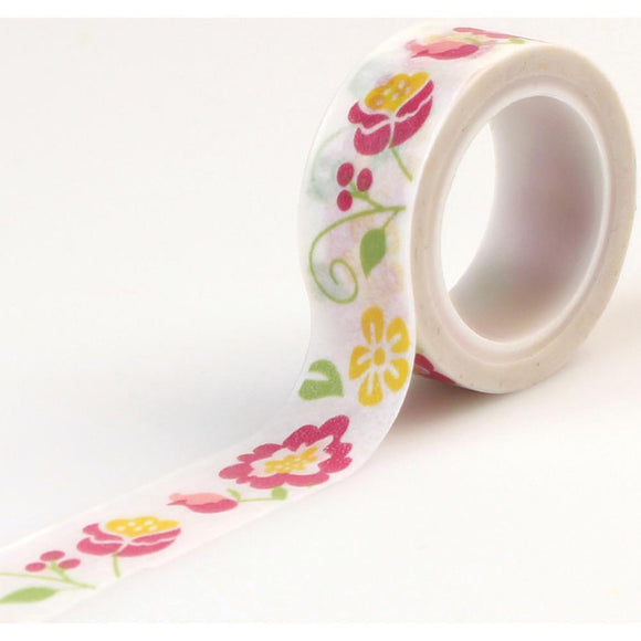 Scrapbooking  Echo Park Petticoats Girl Floral Decorative Tape Paper Collections 12x12